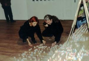 Z Magdą (montaż wystawy) - Lublin (1996)